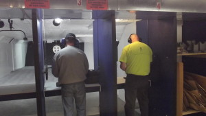 Shooters enjoying our updated range.